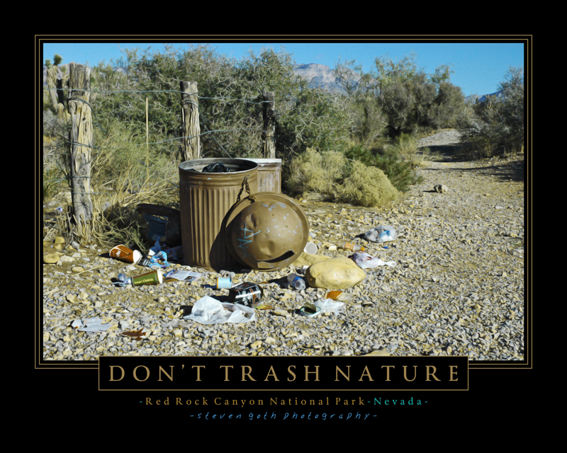 Don't Trash Nature